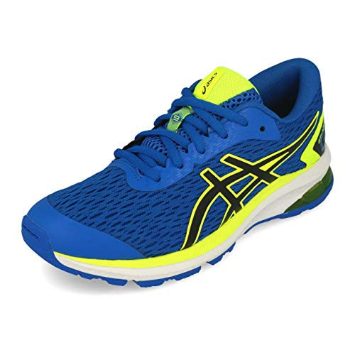 Asics GT-1000 9 GS, Running Shoe Unisex niños, Directoire Blue/Black, 37 EU