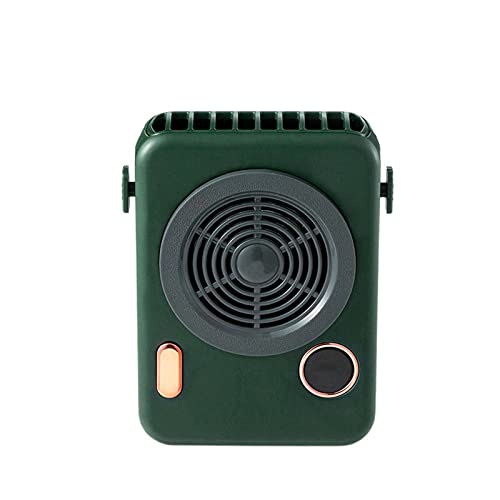 N\C F856 Camera Fan Smart Screen Display Power Level Compact Portable Hanging Neck Built-in Battery 2000 MAh