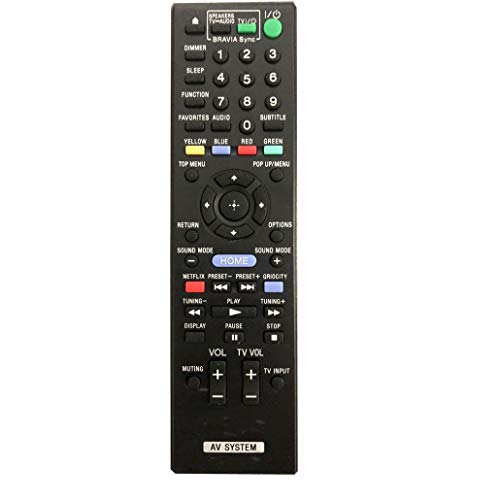 Why Should You Buy 4EVER Remote Control Compatible for Sony HBD-T79 HBD-T28 HBD-E370 HBD-F500 Blu-ra...
