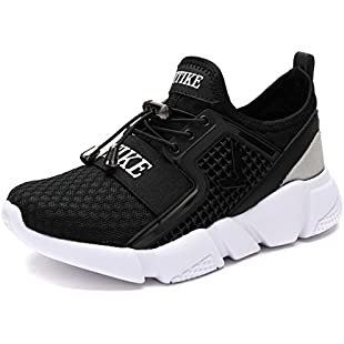 VITIKE Boys Girls Trainers Kids Breathable Lightweight Sneakers Sport Tennis Walking Running Shoes