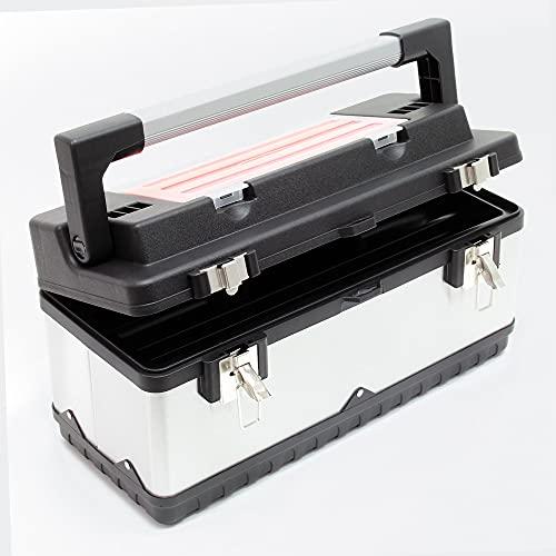 Wiltec Werkzeugkoffer 50,5x23,5x25,5cm...