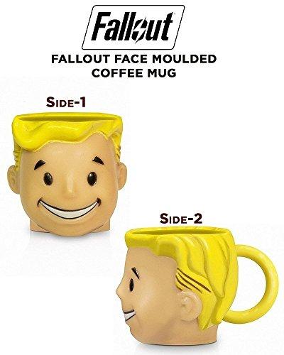 Fallout Vault Boy - 3D Tasse Mehrfarbig