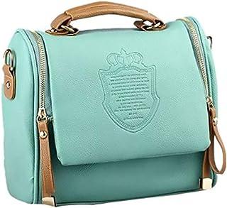 Heaven GH10025 Shoulder Bag for Women - Leather, Green