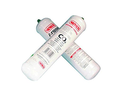 Weldability Sif TWN802048 Ar/CO2 Cilindro desechable, 390 g