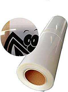 """13""""x100ft.Waterproof Inkjet Transparent Film 1roll Screen Printing Film for Water-based Pigment and Dye Printers"""