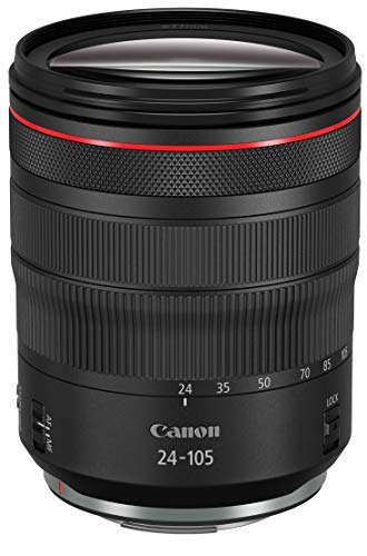 Canon RF 24-105mm F4L IS USM Objektiv (77mm Filtergewinde) schwarz