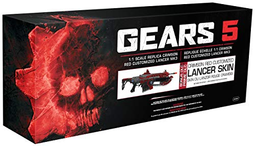 PDP Gears 5 Prop Replica Weapon - Crimson Lancer MK3, 878-018-NA-GOW5 - Not Machine Specific