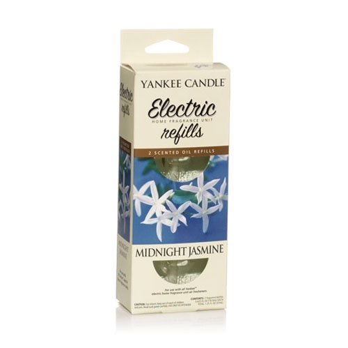 Yankee Candle Midnight Jasmine Electric Home Fragrance Diffuser Twin Refill Pack by Yankee Candle