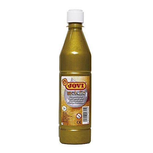 Jovi- Témpera líquida, Color oro, 500 mililitros (38)