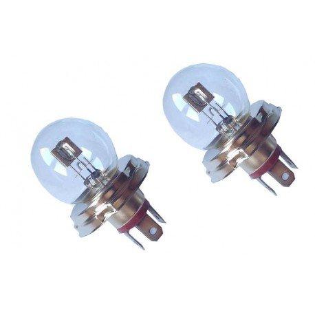 Bombillas/Lamparas R2 12V 45/40W halogenas luz convencional (2 unidades, marca Eagleye)