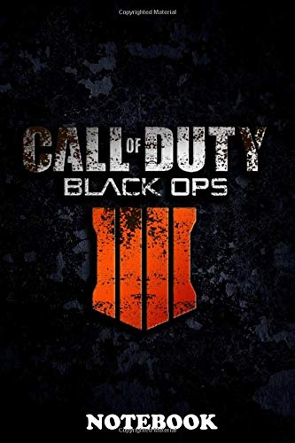 Notebook: Call Of Duty Black Ops 3 , Journal for Writing, College Ruled Size 6' x 9', 110 Pages