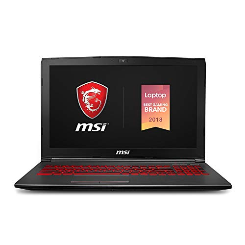 MSI GV62 8RD-275 15.6' Performance Gaming Laptop NVIDIA GTX...