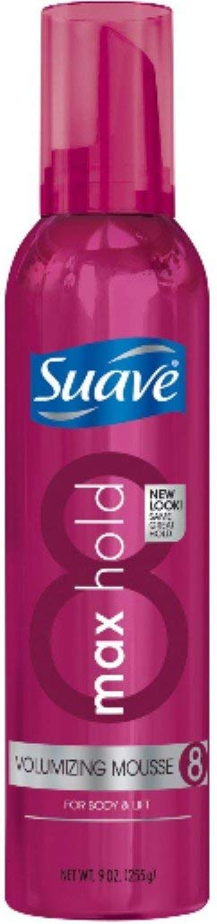 55% OFF Very popular Suave Max Hold 8 Volumizing 9 oz Pack 5 Mousse
