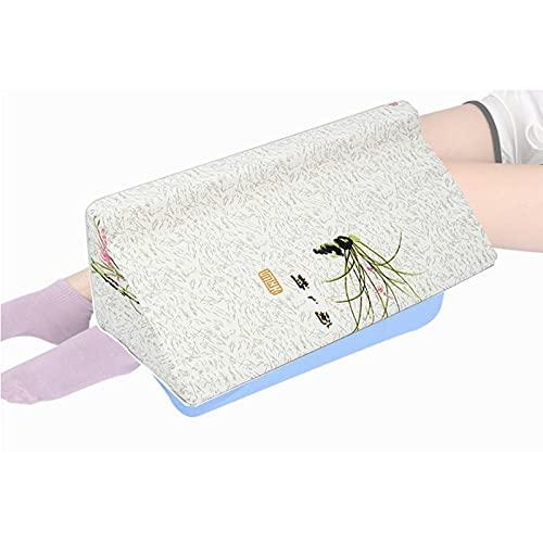 Almohada giratoria en forma de R, almohadas de cuña para dormir, cuñas de cama de espuma, dormitorio de embarazo, alineación corporal evada, soporte de tobillo, almohada para piernas(Color:C,Size:6