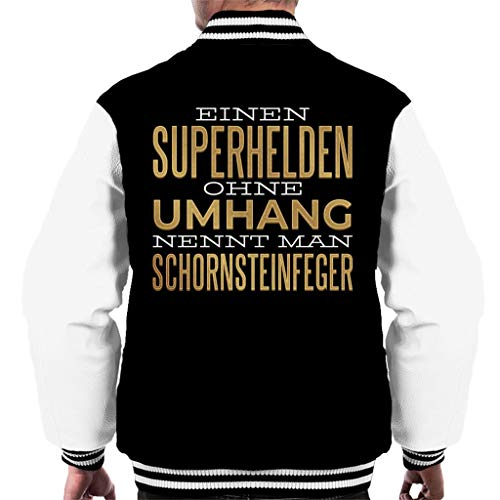Cloud City 7 Einen Superhelden Ohne Umhang Nennt Man Schornsteinfeger Men's Varsity Jacket