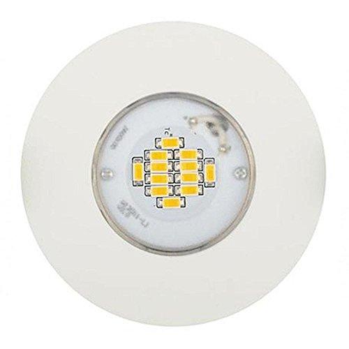 Light Topps LT1595910 Spot LED encastrable avec changement de couleur RVB 8,5 W Blanc IP65