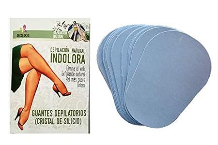 Decolores, Recambios corporales depilación natural e indolora, ideal para el cuidado de la piel. Incluye 15 discos corporales de recambios de mineral de silicio.