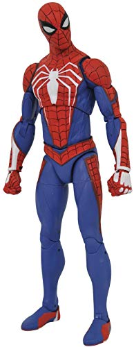 DIAMOND SELECT TOYS AUG192734 Marvel Select: Spider-Man (Playstation 4 Version) Action Figure, Multicolor