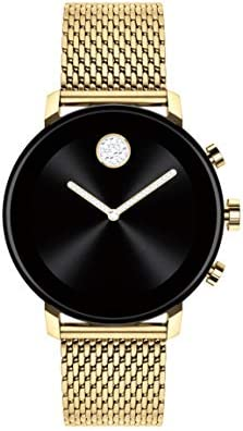 Movado Connect 2 0 Unisex Powered with Wear OS by Google Stainless Steel and Ionic Light Gold product image