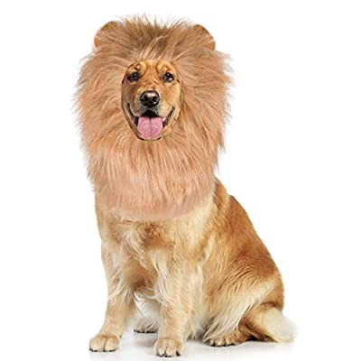 ADOGGYGO Dog Lion Mane - Lion Dog Costume Adjus...