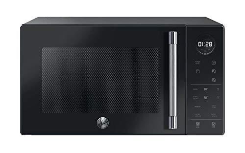 Hoover Chefvolution H5MG25STB - Microondas con grill, 25 litros, 900W - 1000W, 6 niveles de potencia, Inicio diferido, Temporizador, Express cooking, Negro