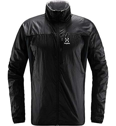 Haglöfs Outdoorjacke Herren Summit Hybrid Jacket Insulating, atmungsaktiv, wasserabweisend True Black M M