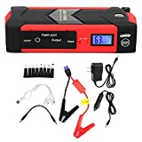 KIMISS Multifunktionaler Auto-Starthilfe Batterie Power Bank 110V - 240V(European regulations) (D)