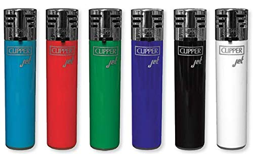 6 Jet Flame Clipper Wind Resistant Resistant Torch Lighters