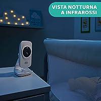 """Chicco Baby Monitor Video Deluxe, Videocamera per Neonati e Bambini con Schermo a Colori LCD 4.3"""", Portata 220 m, Visione Notturna, Termometro, Melodie e Suoni Bianchi, Batteria a Lunga Durata #2"""