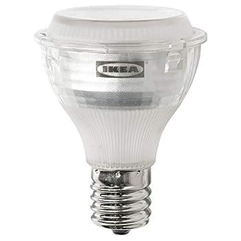 IKEA 103.658.34 Ledare Led Bulb E17 Reflector R14 400 Lm Warm Dimming Dimmable