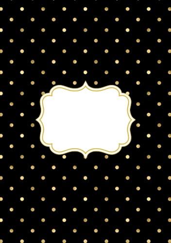 Cuaderno hojas negras scrapbook: Libreta para dibujar, Scrapbooking o album de fotos...
