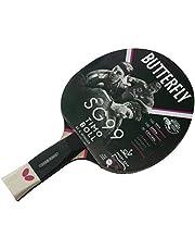 Butterfly SG99 - Raqueta de Tenis de Mesa, Color Negro y Rojo