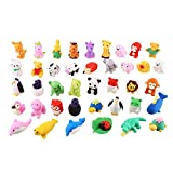 newlly cute mini puzzle animal pencil eraser toys set for kids - pack of 30 pieces- Multi color