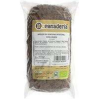 Biopanadería Pan de Molde de Centeno Integral con Linaza elaborado con Masa Madre Natural Ecológico Gourmet
