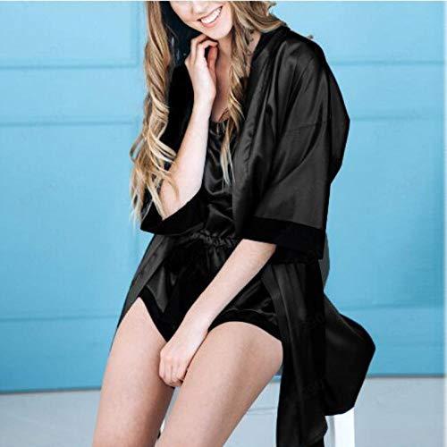 Sexy lingerieErotische knuffels en bodysuits voor dames Erotische nachtkleding en badjas voor dames Grote maten sexy lingerie, sexy gaas, thuis, sexy nachthemd, sexy pyjama's met afbeeldingen_S