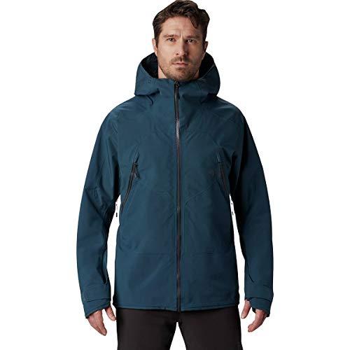 Mountain Hardwear Men's Boundary Ridge Gore-Tex 3L Jacket | Winter Hardshell Waterproof Jacket for Skiing and Snowboarding - Icelandic - Large