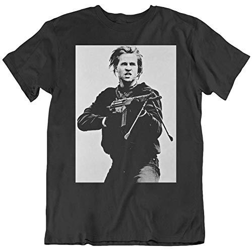 Cult Classic Movie Heat Val Kilmer Movie Sniper Scene v3 T Shirt Funny Gift for Men Women Girls Unisex T-Shirt (Black-XL)