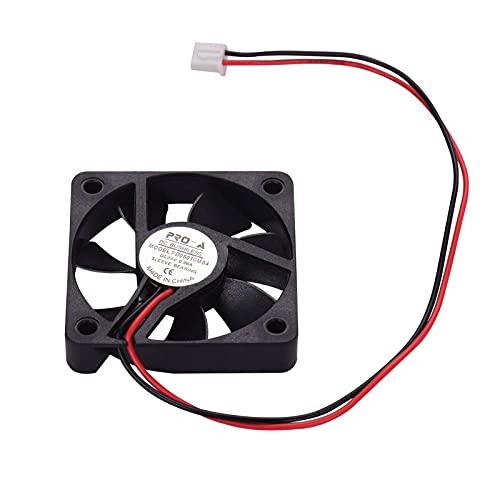 Durable Ventilador de refrigeración sin escobillas, Ventilador de refrigeración sin escobillas 5010 50 * 50 * 10mm DC 24V con cojinete de Manguito para extrusora de Impresora 3D