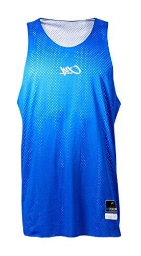 K1X Jersey Hardwood Rev Practice MK2, Blue/White, XXS