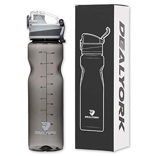 Dealyork 32oz Sports water bottle
