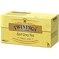 Twinings - Té Earl Grey, 25 bolsitos