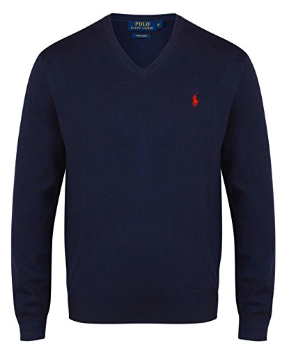 Polo Ralph Lauren Herren V-Neck Navy (L)