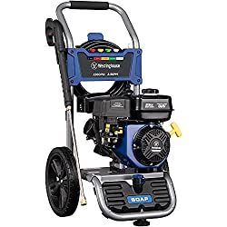 commercial Westinghouse WPX3200 gas pressure washer 3200psi inch and 2.5GPM, soap tank and 5 nozzles … dewalt power washer