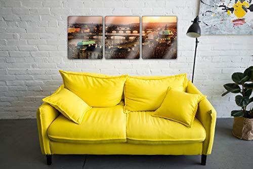 Color Agile-Acrylglasbilder 3 Teilig, Städte, Acrylglasbilder Natur, Acrylglas-Wand, Acrylglasbilder küche, Acrylglasbilder XXL, Wandglaskasten auf Glas, Acrylbild, Acrylbilder,Acrylglas.