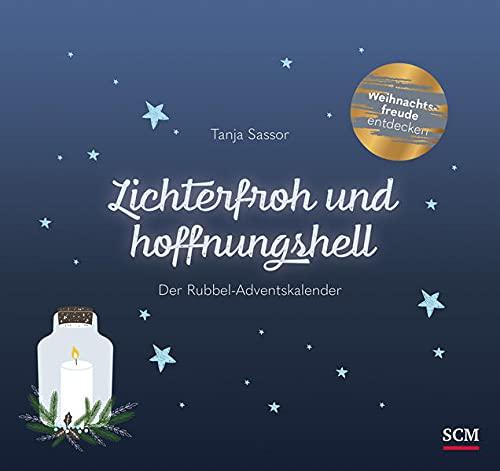 Lichterfroh und hoffnungshell: Der Rubbel-Adventskalender