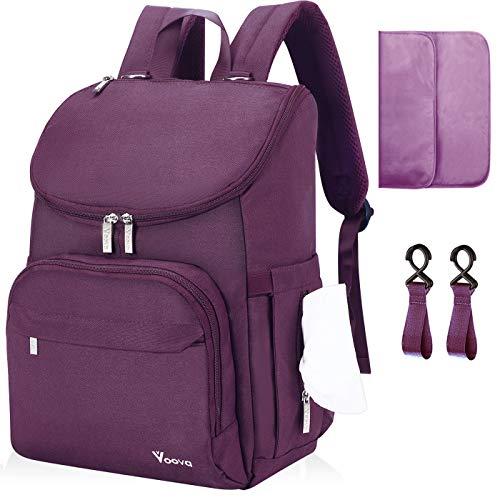 Diaper Bag Backpack, Voova Large Baby...