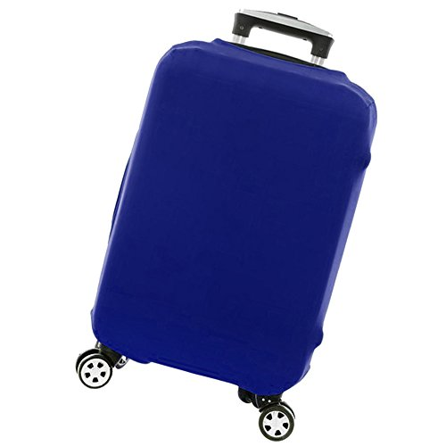 Travel Luggage Cover Spandex Suitcase Protective (Blue L)
