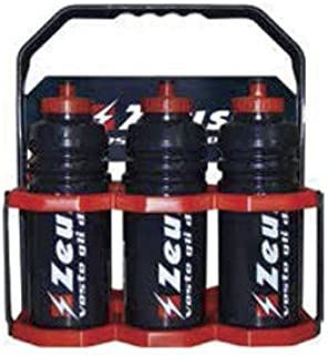 Zeus Kit Cesta + 6 Botellas de Agua Bicicleta Running Correr ...