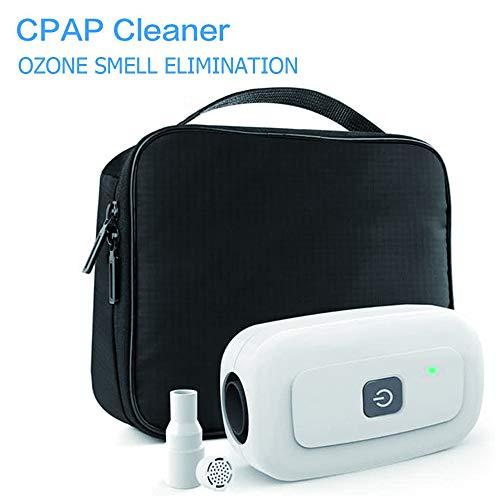 DNNAL Neu CPAP-Reiniger Bundle (NO Mehr Bad Geruch von Ozon) für CPAP-Maske, Kissen, Regular & Beheizte Schlauchleitung Schlauchzubehör und Ausrüstung CPAP-Reiniger und Sterilisator,A