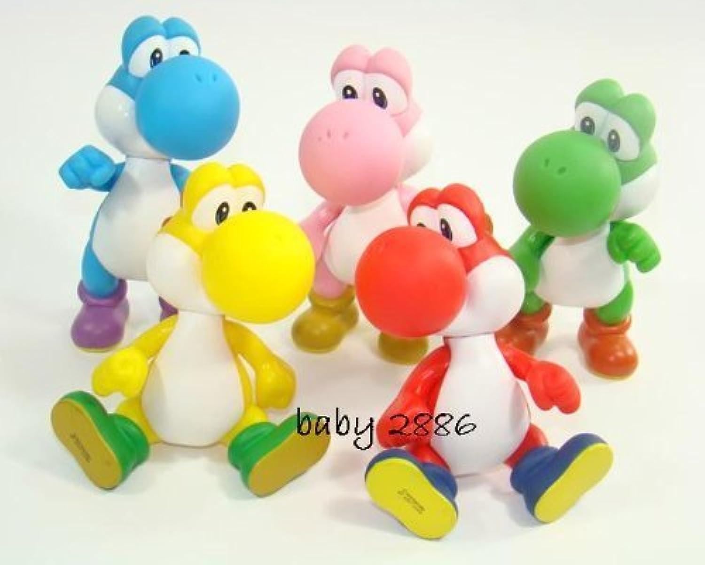 envío rápido en todo el mundo 5 Color Yoshi Figura Set súper Mario Characters Figura Figura Figura Collection 3  by BP  marcas de moda